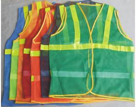 Quần áo bảo hộ - Áo lưới phản quang các màu