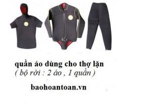 Quần áo thợ lặn ( Bộ rời )